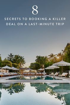 8 Secrets to Booking a Killer Deal on a Last-Minute Trip via @PureWow