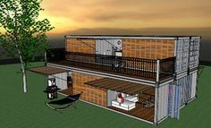 container by laurent robyns design - 3D Warehouse