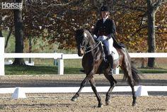 Olympic medalist Gina Miles shares tips for improving your dressage score.