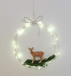 mommo design: WIRE LIGHTS XMAS CRAFTS