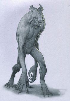 Tall Troll by Mavros-Thanatos.deviantart.com on @deviantART