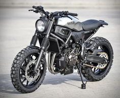 Made to order and assembled by hand by Germany based motorcycle workshop WalzWerk-Racing, the Atacama 700, is based on a Yamaha XSR700 and is converted into an absolutely pure and puristic driving machine. Available in two versions, the Atacama 700 a