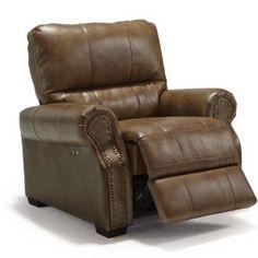 Best Furniture - Lander Recliner open