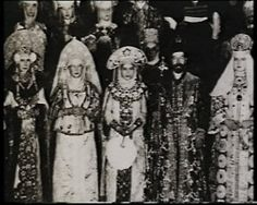 1903 Costume Ball. The theme was people of the seventeenth century: Nicholas went as Tsar Alexei Mikhailovich and Alexandra Feodorovna as his first wife Maria Miloslavskaya.