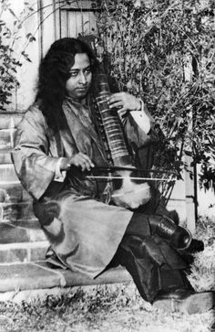 #Paramahansa #Yogananda playing the esraj