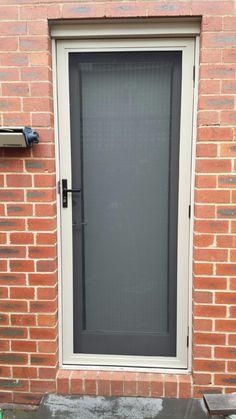 Screen Door & Aluminium frame fly screen sliding door with aluminium tuff mesh ...