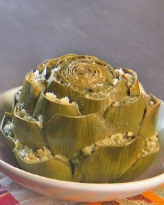 Stuffed artichoke recipe.