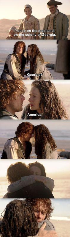 Outlander S03E13 - Jamie & Claire.