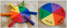 Color Matching Activity....There are only two ways to live your life.: Montessori for 19 to 20 Month Olds