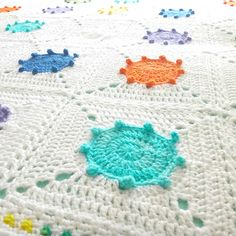 Ravelry: Paint Splash Blanket pattern by Christine Tusch