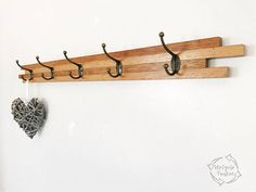 Wall Hangers For Clothes Delectable Australian Timber Wall Mounted Coat Rack Hooks Racks Clothing Design Decoration