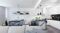 Dobryinterier.sk Loft, Living Room, Table, Furniture, Home Decor, Decoration Home, Room Decor, Lofts, Home Living Room