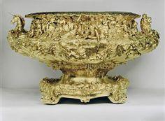 John Bridge (1755-1834) The Grand Punch Bowl  1829  Silver gilt |