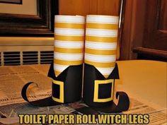DIY: Halloween Craft Ideas from toilet paper rolls