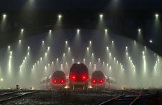 Train Station In Denmark