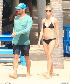 Gwyneth Paltrow Rocks A Bikini While Consciously Uncoupling With Chris Martin In Mexico