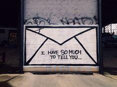 grunge, graffiti, and Letter image