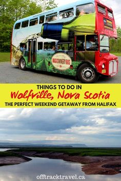 Just an hour's drive away from Halifax is Wolfville, a little gem of a gateway to the bountiful Annapolis Valley. For a place with a year-round population of only around 5000 people, Wolfville kicks well above its weight on the 'things to do' front. Nova Scotia Travel, Visit Nova Scotia, Annapolis Valley, Stuff To Do, Things To Do, New Brunswick, Canada Travel, Summer Travel, Weekend Getaways