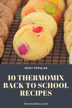 Get back-to-school ready with 10 of our most popular Thermomix lunchbox recipes! From sausage rolls to cupcakes, muesli bars to scrolls. there's a sweet or savoury recipe to suit your little ones! Lunch Box Recipes, Snack Recipes, Lunchbox Ideas, Healthy Meals For Kids, Kids Meals, My Favorite Food, Favorite Recipes, Thermomix Desserts, Fun Easy Recipes
