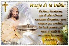 Vidas Santas: Santo Evangelio según san Lucas 12:37