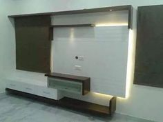 Savan Space - Redefining Your Home & Office Space Planning Lcd Unit Design, Lcd Panel Design, Lcd Units, Tv Cabinet Design, Modern Tv Units, Space Interiors, Tv Cabinets, Best Interior, Interior Decorating