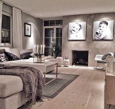 Very modern decor. Love the interior design of this salon Cosy Interior, Luxury Interior, Decor Interior Design, Furniture Design, Living Room Grey, Home And Living, Living Area, Living Room Decor, Living Styles