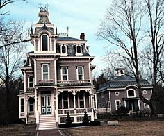 Tall and stately Second Empire Victorian