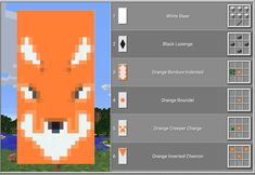 Top 10 Coolest Banners In Minecraft-Horse Head Banner Minecraft Minecraft Mods, Minecraft Plans, Minecraft Tutorial, Minecraft Blueprints, Minecraft Crafts, Minecraft Earth, Minecraft Banner Patterns, Cool Minecraft Banners, Bracelet Patterns