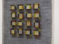 """Little Squares"" series detail; Morgan Clifford"
