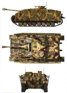 Немецкие САУ времен Второй мировой войны. Немецкое штурмовое орудие StuG IV Sturmgeschutz IV