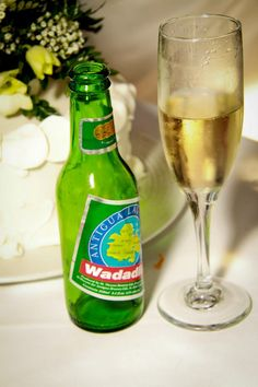 A chilled Wadadli beer to celebrate the moment    (Photo credit: byZia Photography Antigua - http://www.facebook.com/byZIAphotographyANU)