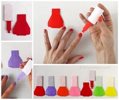 Post image for Ready For a Cute Origami Nail Polish? - Leyla Torres