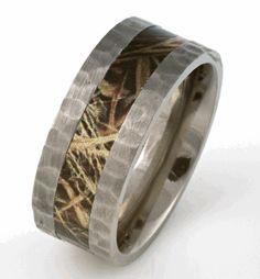 Camo Wedding Rings Redneck Wedding Ideas rings Pinterest