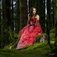 -- ONCE UPON A TIME -- by Bjørn Rossland on 500px Once Upon A Time, Girl Fashion, Victorian, Photoshoot, Photography, Dresses, Outdoor, Colors, Women's Work Fashion