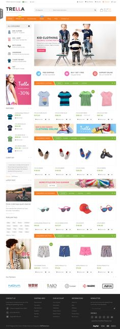 SNS Trella is fresh and clean design Responsive Magento Theme. If you want to have a very unique and attractive design and trying to make your way among numerous #store owners, SNS Trella is a great starting point for you. SNS Trella with powerful features, easy to customize, power admin, cool effect makes your #website amazing form rest eCommerce sites.