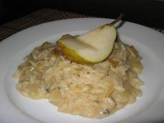 Pear and Gorgonzola Risotto