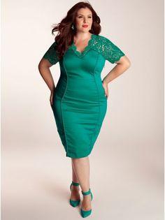 143f9e645b Denise Plus Size Dress in Mint Jade - Just In