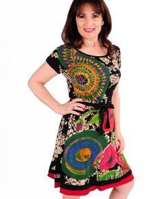 Michelle's Ruidoso - Desigual Texas Dress, $108.00 (http://www.michellesruidoso.com/desigual-texas-dress/)
