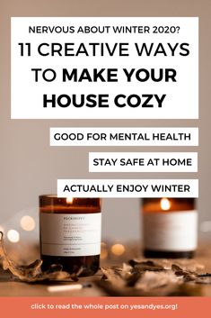 Want to make your house cozy? Looking for cozy decor tips? Look no further! Read on for cozy, warming, fun ways to make your house a snuggle palace this winter! #hygge #cozydecor #wintertips #decorating #feelgood Good Mental Health, Mental Health Quotes, Health Tips, Health And Wellness, Hygge Life, Improve Yourself, Make It Yourself, Anxiety Relief, Learning To Be