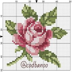 Most up-to-date Pics Cross Stitch punto de cruz Thoughts Cross-stitch is a straightforward style of needlework, well matched for the cloth accessible to stit Cross Stitch Borders, Cross Stitch Flowers, Cross Stitch Designs, Cross Stitching, Cross Stitch Embroidery, Embroidery Patterns, Hand Embroidery, Cross Stitch Patterns, Cross Stitch Baby
