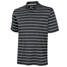 Adidas Textured Stripe Polo Shirt,Golf , New- Clothing Deals, Men's Clothing, Striped Polo Shirt, Casual Shirts, Golf, Adidas, Best Deals, Mens Tops, Shopping