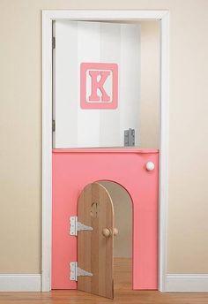 Love this door idea