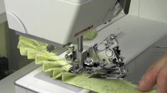 Bernina Ruffler Foot I don't have a Bernina but this gives some great general guidelines for using a ruffler foot and suggestions for use of a ruffle.