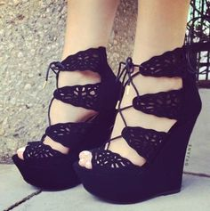 Wedge heels《♡》