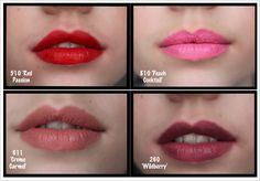 Maybelline 14-Hour Lipstick Swatches infinie iris | Review: Maybelline Super Stay 24hr Lip Gloss