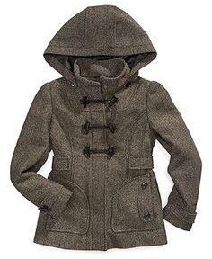 London Fog Kids Coat, Girls Toggle-Front Jacket - Kids Jackets & Coats - Macy's