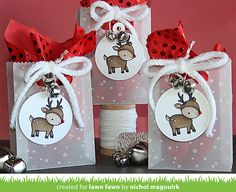 Lawn Fawn Video {12.15.15} Vellum Goodie Bags with Nichol