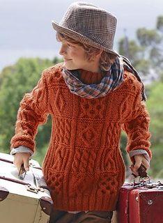 644 - Crew Neck Sweater by Bergère de France - Bergère de France Explications Tricot 2012/2013
