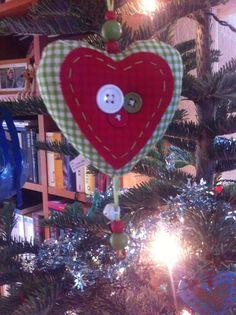 Zelfgemaakte kerst bal