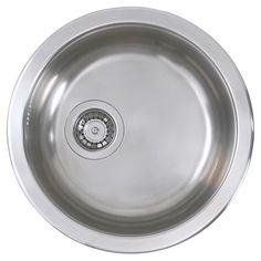 BOHOLMEN Single-bowl inset sink - IKEA for master bath